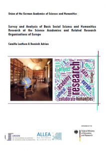 Survey and Analysis of Basic Social Science and Humanities Research at the Science Acad emies and Related Research Organisations of Europe