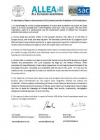 Letter of Support - Joint Letter from the Presidents of Academia Europaea, EASAC and ALLEA regarding cuts in the EU-budget on research