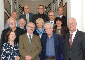 The ALLEA Board and representatives of BAS