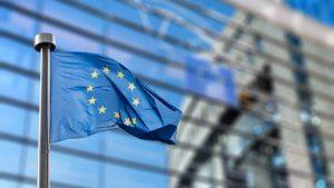 European Union flag against European Parliament   Fotolia