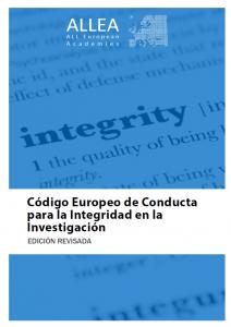 Código Europeo de Conducta para la Integridad en la Investicación