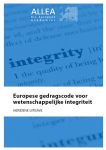 Europese gedragscode voor wetenschappelijke integriteit
